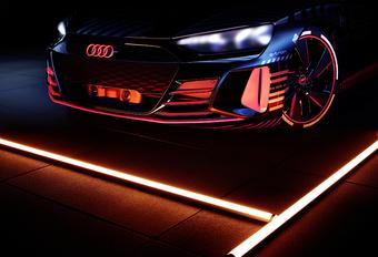 Audi E-Tron GT maakt helikoptergeluid #1