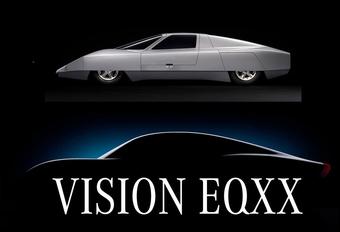 Mercedes Vision EQXX wordt elektrische Rekordwagen #1