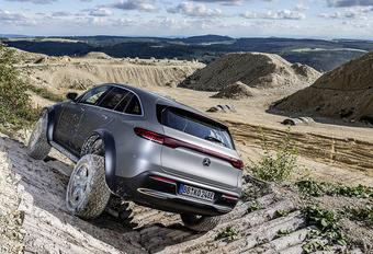 Mercedes EQC 4x4² : le tout-terrain électrique #1