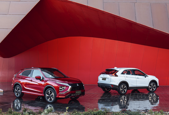 Mitsubishi Eclipse Cross : Facelift et PHEV #1