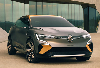 Renault Mégane eVision wordt elektrische cross-over #1