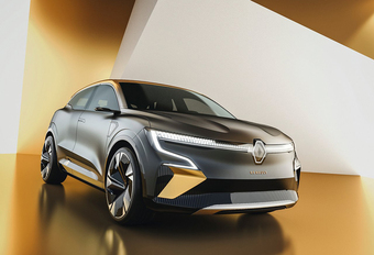 Renault Mégane eVision gaat loop 2021 in productie #1