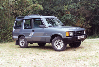 Throwback: Land Rover Discovery I (1989-1998) #1