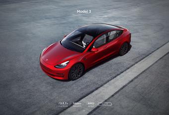 Tesla Model 3 krijgt meer rijbereik en snelheid #1