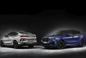 BMW X5 M en X6 M nog vetter als First Edition - Update: Belgische prijzen #1