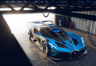 Officieel: Bugatti Bolide is crazy circuitmonster #1