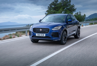 Jaguar E-Pace : lifting sans surprise et hybridation #1