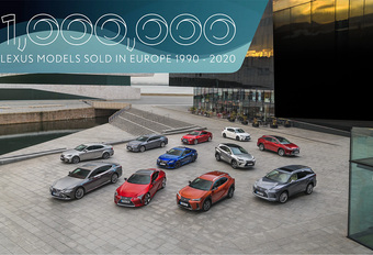 Lexus passe le cap du million de ventes en Europe #1
