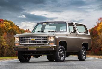 Wat is er zo speciaal aan deze Chevrolet Blazer uit 1977? #1