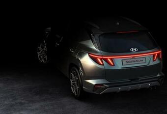 Hyundai tease le Tucson N Line #1