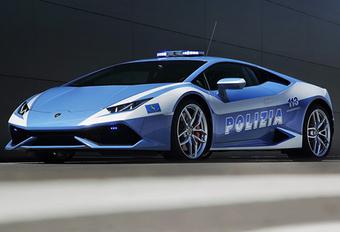 Snelheid redt levens, bewijst de Lamborghini van de Italiaanse Polizia #1