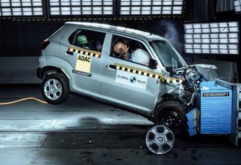 Cette Suzuki obtient 0 étoile aux crash-tests du NCAP #1