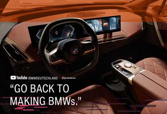 BMW heeft grote mond over zijn grote grille #1