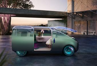 Mini Vision Urbanaut : bureau, bar lounge et véhicule de voyage #1