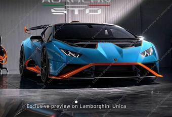 Gelekt: Lamborghini Huracan STO, kort voor Super Trofeo Omologato #1