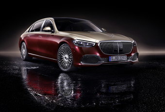 Mercedes-Maybach maakt S-Klasse nog luxueuzer #1