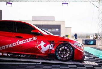 Alfa Romeo Giulia nu ook als 680 pk sterke elektrische racer #1