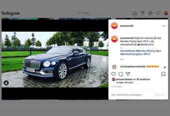 Dit zijn de 10 populairste luxewagens op Instagram #1