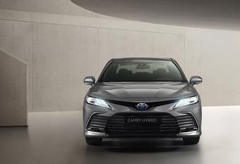 Toyota Camry krijgt al een kleine facelift #1