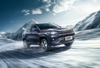 Jeep Compass: facelift voorgesteld in China #1