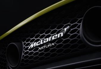 Nieuwe hybride McLaren heet... Artura #1