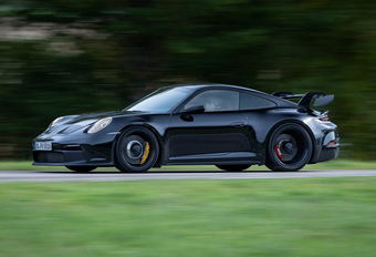 Porsche 911 GT3 : les caractéristiques techniques  #1