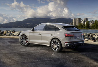 Audi SQ5 Sportback : SUV-Coupé et V6 TDI #1