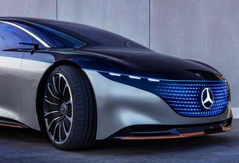 Mercedes plant AMG-versies van elektrische EQ-modellen #1