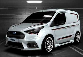 Ford Transit Connect R120 : tuning utilitaire #1