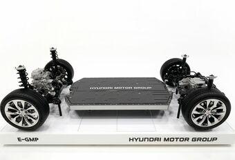 E-GMP: het elektrische platform van Hyundai op 400-800 V #1