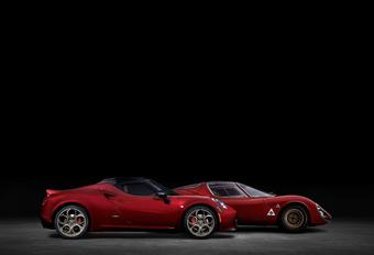 Over en uit voor Alfa Romeo 4C #1