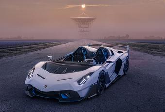 Lamborghini SC20 is extreme circuitauto zonder dak #1