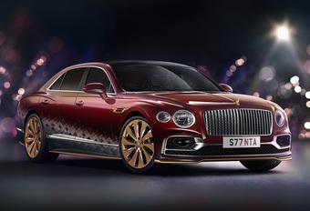 Bentley verwent de kerstman met deze luxe slee #1