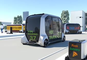 Toyota e-Palette : commercialisation dans un futur proche #1