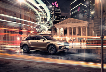 Bentley Bentayga Hybrid : nouveau look et plus grosse batterie #1