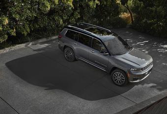 Officieel: nieuwe Jeep Grand Cherokee L ook als plug-inhybride 4xe #1