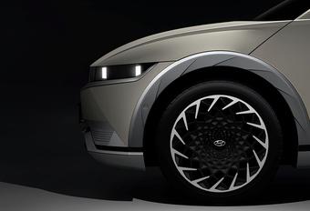 Ioniq 5: elektrische productieversie van de Hyundai 45 Concept #1