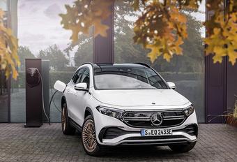 Elektrische GLA debuteert als Mercedes EQA 250 #1