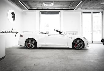 Ares Design maakt geslaagde Tesla Model S Cabrio #1