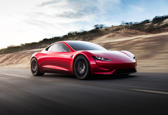 Tesla Roadster komt pas in 2022 #1
