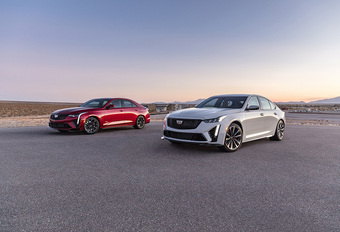Cadillac CT4-V & CT5-V Blackwing: tot 677 pk! #1