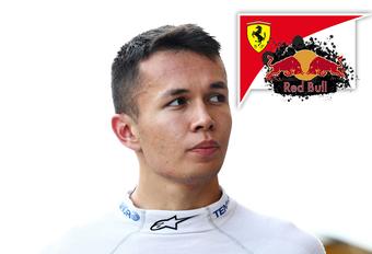 Alex Albon verenigt Red Bull met Ferrari #1