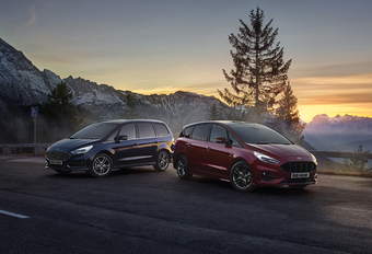Ford S-Max en Galaxy krijgen Hybrid-motor van de Kuga HEV #1