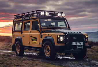 Land Rover Classic Defender maakt zoveelste comeback als Works V8 Trophy #1