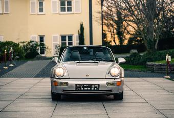 Deze Porsche 911 is de voetballersauto van een dribbelwonder #1