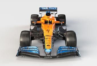 Formule 1 2021: McLaren-Mercedes MCL35M #1