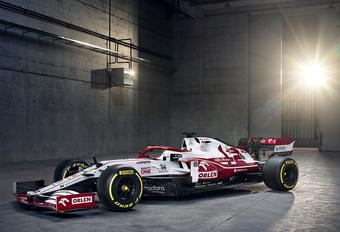 Formule 1 2021: Alfa Romeo C41 (Ferrari) #1