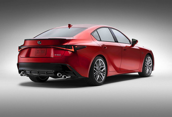 Lexus IS 500 F Sport: spirituele opvolger IS F #1
