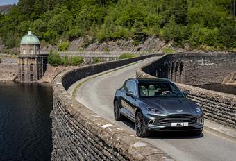 Aston Martin, une production majorée grâce au DBX #1