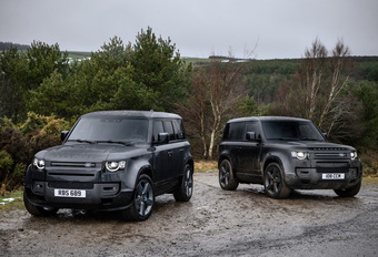 Land Rover offre un V8 au Defender #1